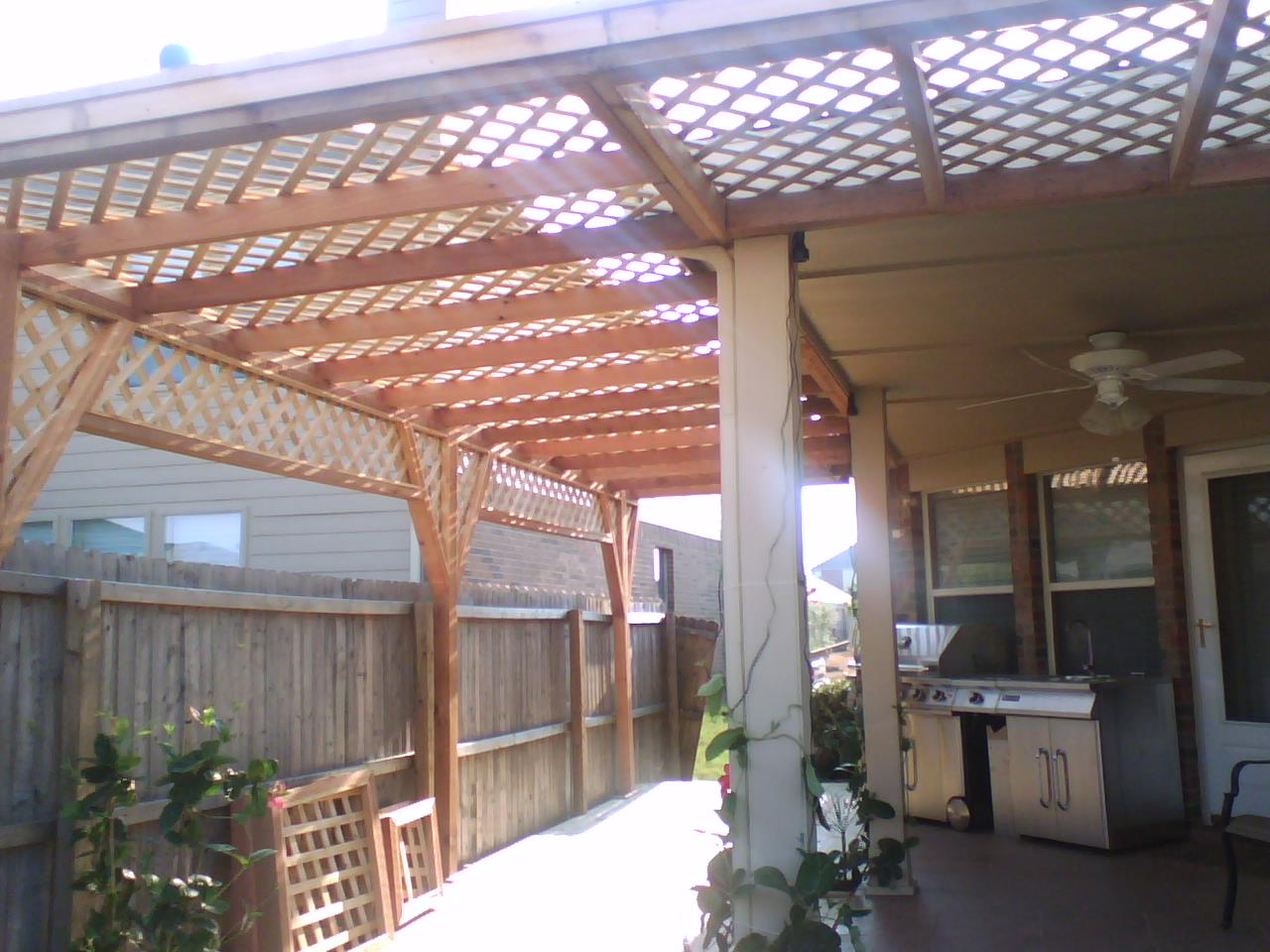 How To Build A Patio Cover With Cedar Or Cypress Gazebo