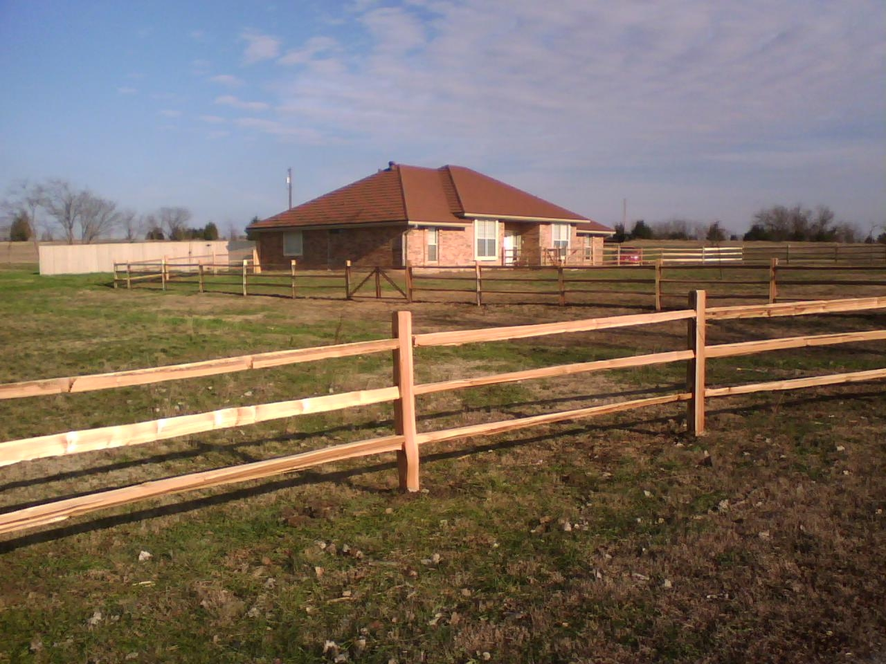Cedar split rail fence fences decks by t campbell