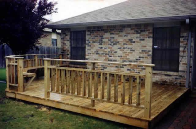 Custom Wood Decks Fences Decks By T Campbell