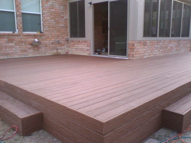 October 2011 fences decks by t 39 campbell for Trex decking