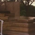Treated Pine Wood Deck